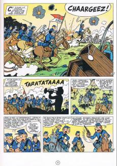 Extrait de Les tuniques Bleues -11b1989- Des bleus en noir et blanc