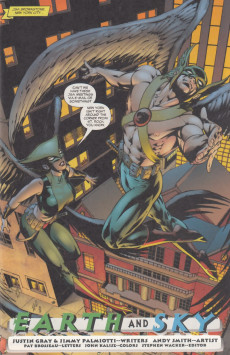 Extrait de Hawkman (2002) -33- Earth and sky