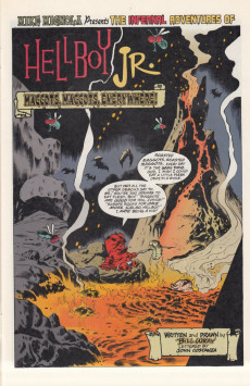 Extrait de Hellboy Junior (1997) -SP- Halloween special
