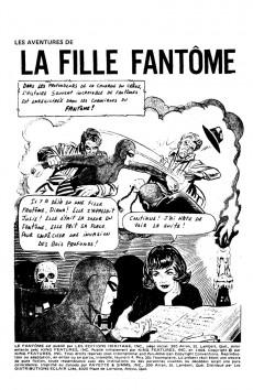 Extrait de Le fantôme (Éditions Héritage) -4- Les aventures de la fille fantôme