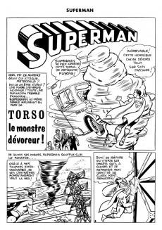 Extrait de Superman l'homme d'acier puis Superman et Batman (1re Série Interpresse) -2- Torso le monstre dévoreur !