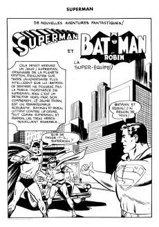 Extrait de Superman l'homme d'acier puis Superman et Batman (1re Série Interpresse) -6- La super-équipe !