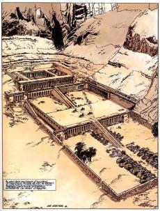 Extrait de Papyrus -12a03- L'obélisque