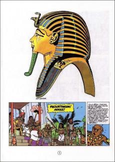 Extrait de Papyrus -17c05- Toutankhamon le pharaon assassiné