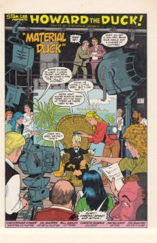 Extrait de Howard the Duck (1976) -33- Material Duck