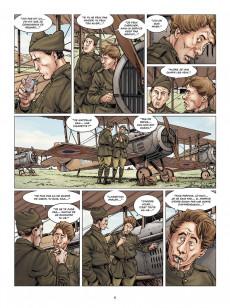 Extrait de 14-18 (Corbeyran/Le Roux) -9- Sur la terre comme au ciel (juillet 1918)