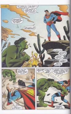 Extrait de Incredible Hulk vs. Superman (1999) -OS- Incredible Hulk vs. Superman: Double lives