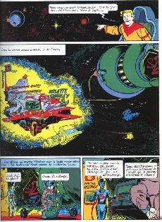 Extrait de Le mécano des étoiles -1- Les aventures sidérales d'Arlette et Charley