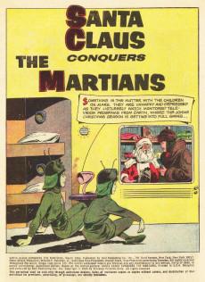 Extrait de Movie Classics (Dell - 1962) -725- Santa Claus Conquers the Martians