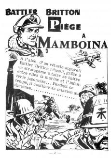Extrait de Battler Britton (Imperia) -88- Piège à Mamboina