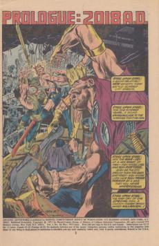 Extrait de Amazing Adventures (1970) -18- The war of the worlds!