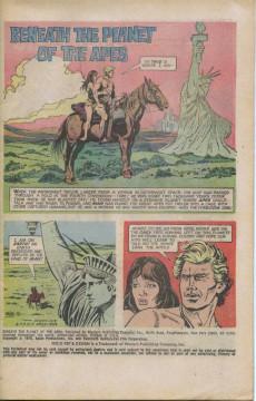 Extrait de Movie comics (Gold Key) -1012- Beneath the Planet of the Apes