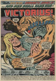 Extrait de Astonishing tales Vol.1 (Marvel - 1970) -19- Victorius!