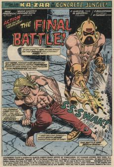 Extrait de Astonishing tales Vol.1 (Marvel - 1970) -20- The final battle!