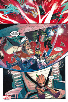 Extrait de Marvel Universe (Panini - 2017)  -5- La Chute d'un dieu