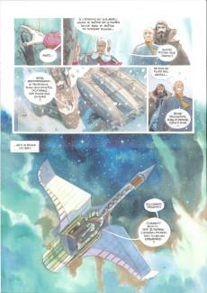 Extrait de Le château des étoiles -10- Les Prisonniers de Mars