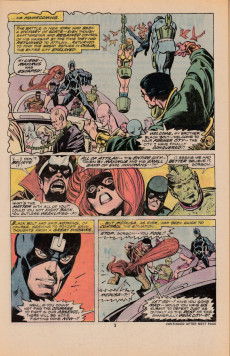 Extrait de Inhumans (1975) (The) -5- Voices from galaxy's end