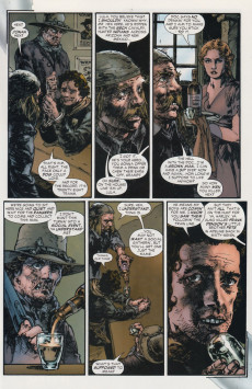 Extrait de Jonah Hex (2006) -5- Christmas with the outlaws