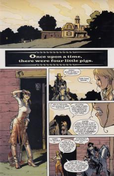 Extrait de Jonah Hex (2006) -26- Four little pigs: A grindhouse western