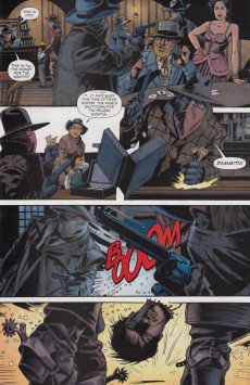 Extrait de Jonah Hex (2006) -55- The brief life of Billy Dynamite