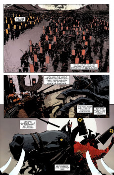 Extrait de 5 Ronin (2011) -1- Chapter one: The way of the one