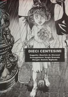 Extrait de Commissario Ricciardi (Il) (Magazine) -1- Dieci centesimi - Partire e lasciare - Un mazzo di fiori - Febbre