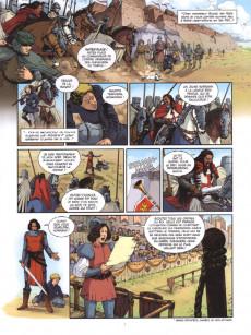 Extrait de Les grands Classiques de la littérature en bande dessinée -37- Ivanhoé