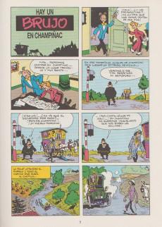 Extrait de Spirou y Fantasio (Las aventuras de) -1- Hay un brujo en champiñac
