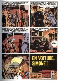 Extrait de Torpedo -5- En voiture, Simone.