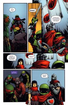 Extrait de Teenage Mutant Ninja Turtles - Les Tortues Ninja (HiComics) -2- La chute de New-York 1/2