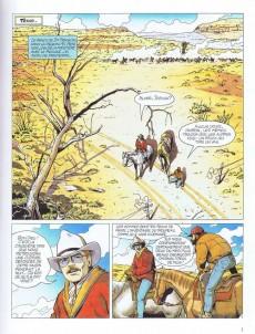 Extrait de Dernière frontière -3- Les voleurs de chevaux