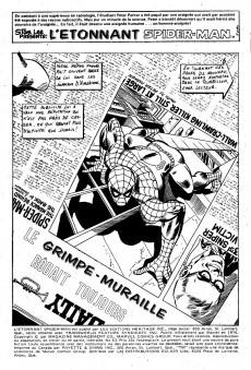 Extrait de L'Étonnant Spider-Man (Éditions Héritage) -63- Le grimpe-muraille rôdait toujours