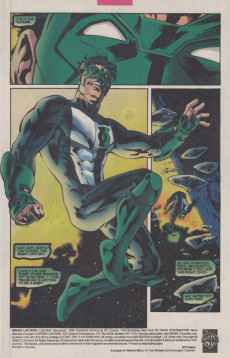 Extrait de Green lantern (1990) -1000000- Star crossed