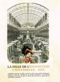Extrait de La fille de l'exposition universelle -TL- Paris 1855