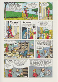 Extrait de Spirou et Fantasio (en danois) (Splint & Co.) -11a78- Kvik i knibe