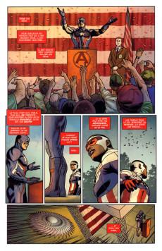 Extrait de Captain America : Sam Wilson -2- Civil War II
