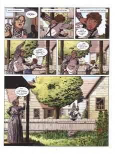 Extrait de Les grands Classiques de la littérature en bande dessinée (Glénat/Le Monde) -38- Les Aventures de Tom Sawyer