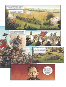 Extrait de Ils ont fait l'Histoire -28- Lincoln