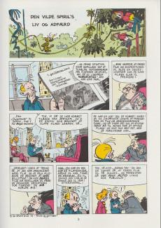 Extrait de Spirou et Fantasio (en danois) (Splint & Co.) -10c89- Den vilde spiril