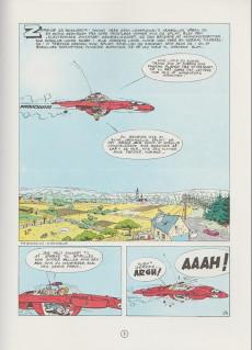 Extrait de Spirou et Fantasio (en danois) (Splint & Co.) -3b90- I skyggen af z
