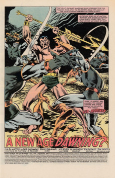 Extrait de Prince Namor, the sub-mariner (1984) -1- A New Age Dawning?