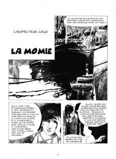 Extrait de Les enquêtes de l'inspecteur Coke -1- La Momie