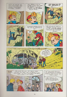 Extrait de Spirou et Fantasio (en danois) (Splint & Co.) -6a78- I muraenens gab