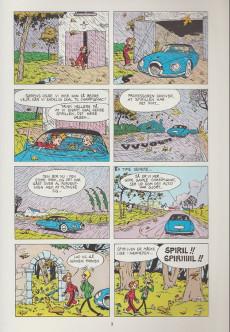 Extrait de Spirou et Fantasio (en danois) (Splint & Co.) -9a78- Ned med diktatoren !
