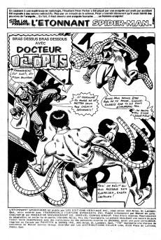 Extrait de L'Étonnant Spider-Man (Éditions Héritage) -61- Bras dessus bras dessous avec Dr Octopus