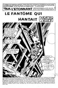 Extrait de L'Étonnant Spider-Man (Éditions Héritage) -59- Le Fantôme qui hantait Octopus