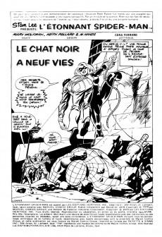 Extrait de L'Étonnant Spider-Man (Éditions Héritage) -9798- Le chat noir à neuf vies