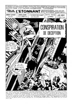Extrait de L'Étonnant Spider-Man (Éditions Héritage) -46- Conspiration de déception