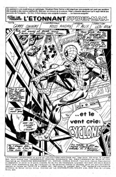 Extrait de L'Étonnant Spider-Man (Éditions Héritage) -45- ... et le vent crie : Cyclone !