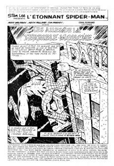 Extrait de L'Étonnant Spider-Man (Éditions Héritage) -9596- Les ailes de la terrible Mouche